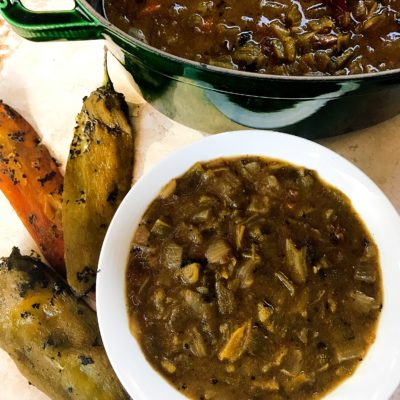 Vegetarian Hatch Green Chili