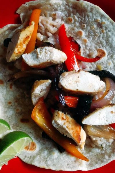 Citrus Chicken Fajitas