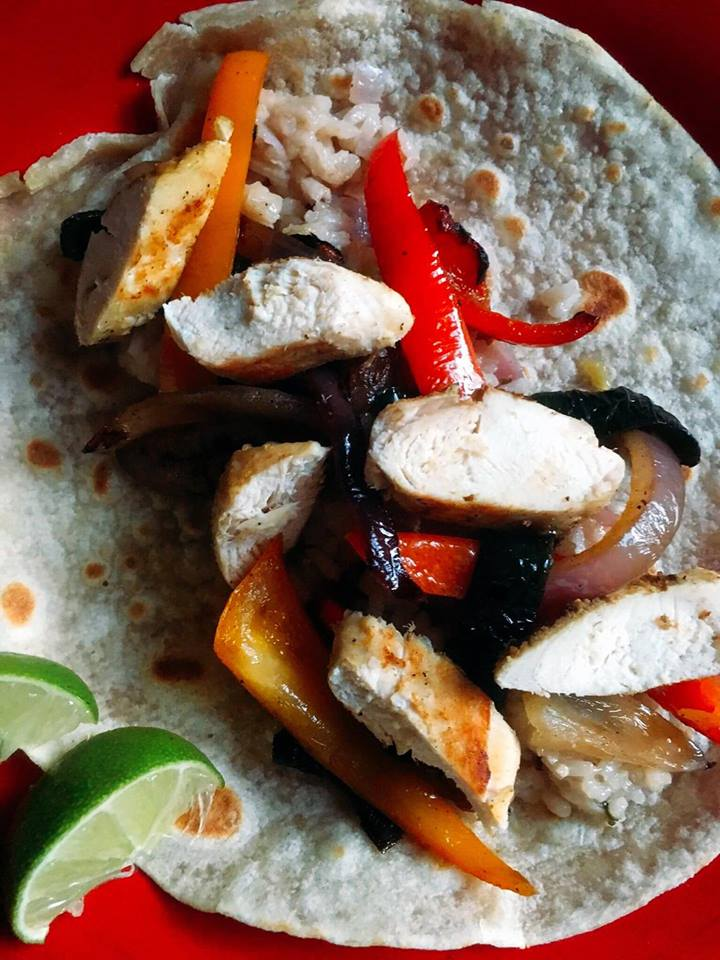 Citrus Chicken Fajitas - a light Mexican dish to please even picky eaters | Three Olives Branch