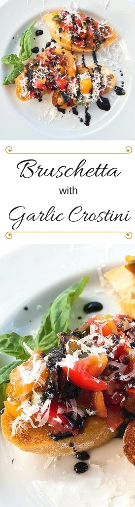Bruschetta with Garlic Crostini | Three Olives Branch