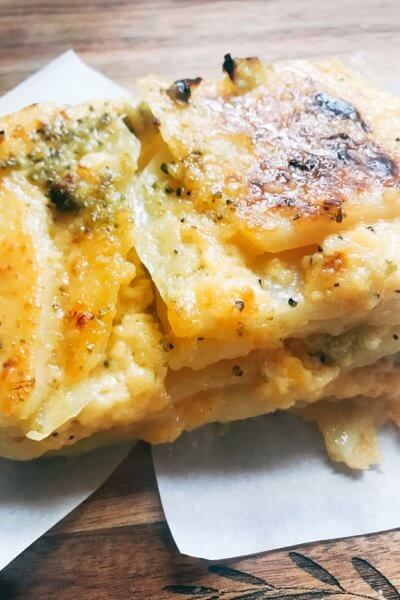 Broccoli Cheese Scalloped Potatoes