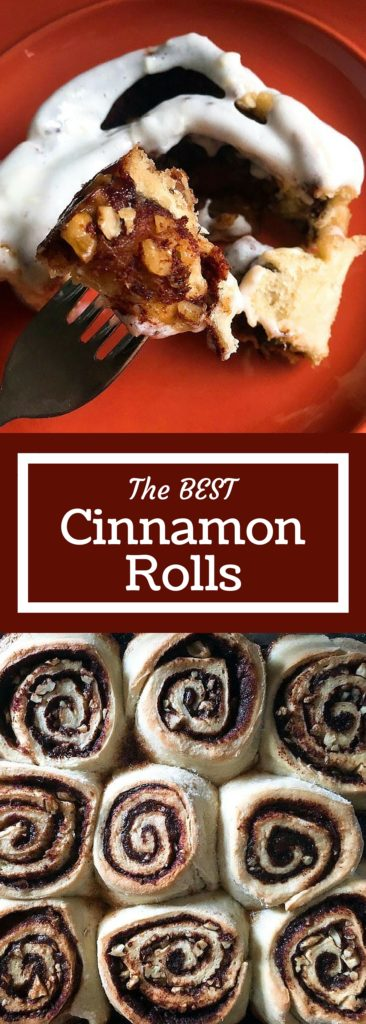 The Best Homemade Cinnamon Rolls - make the night before and pop in the oven in the morning for a quick breakfast that will wake the entire house with the smell of cinnamon baking | Three Olives Branch