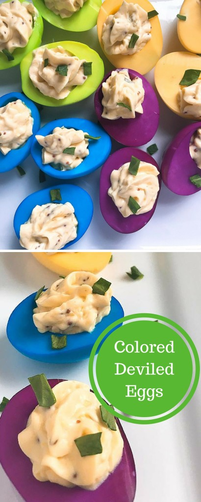 Colored Deviled Eggs | Three Olives Branch