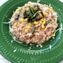 Roasted Asparagus and Sweet Corn Risotto