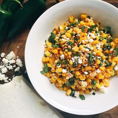 Mexican Street Corn Salsa
