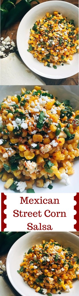 This fast and fresh salsa combines all the flavors of Mexican Street Corn into a convenient and healthy salsa! Takes just 5 minutes to make and also tastes great on tacos, enchiladas, and more!   Three Olives Branch