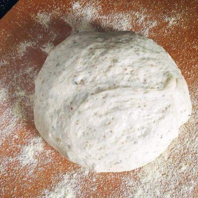 Oregano Garlic Pizza Dough