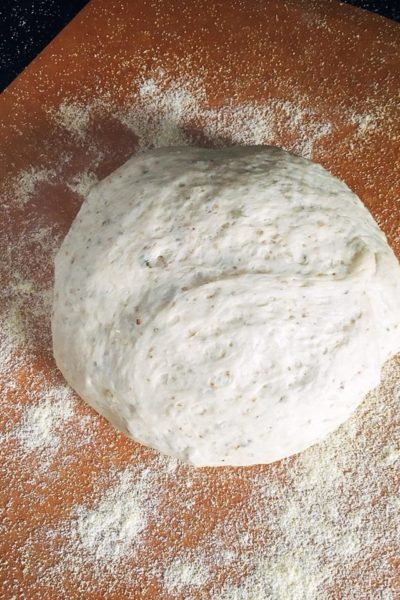 Oregano Garlic Pizza Dough