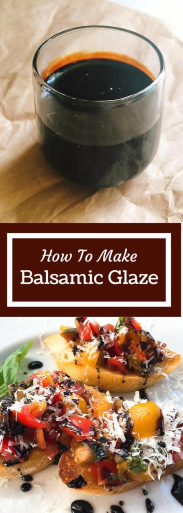 Balsamic Glaze is a powerful weapon in the kitchen that can be used in so many ways to liven up your meal. Just 15 minutes to this liquid gold! | Three Olives Branch