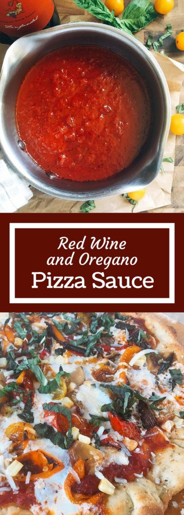 Ready in just 15 minutes, this Red Wine and Oregano Pizza Sauce is packed full of flavor to amp up your pizza nights! | Three Olives Branch