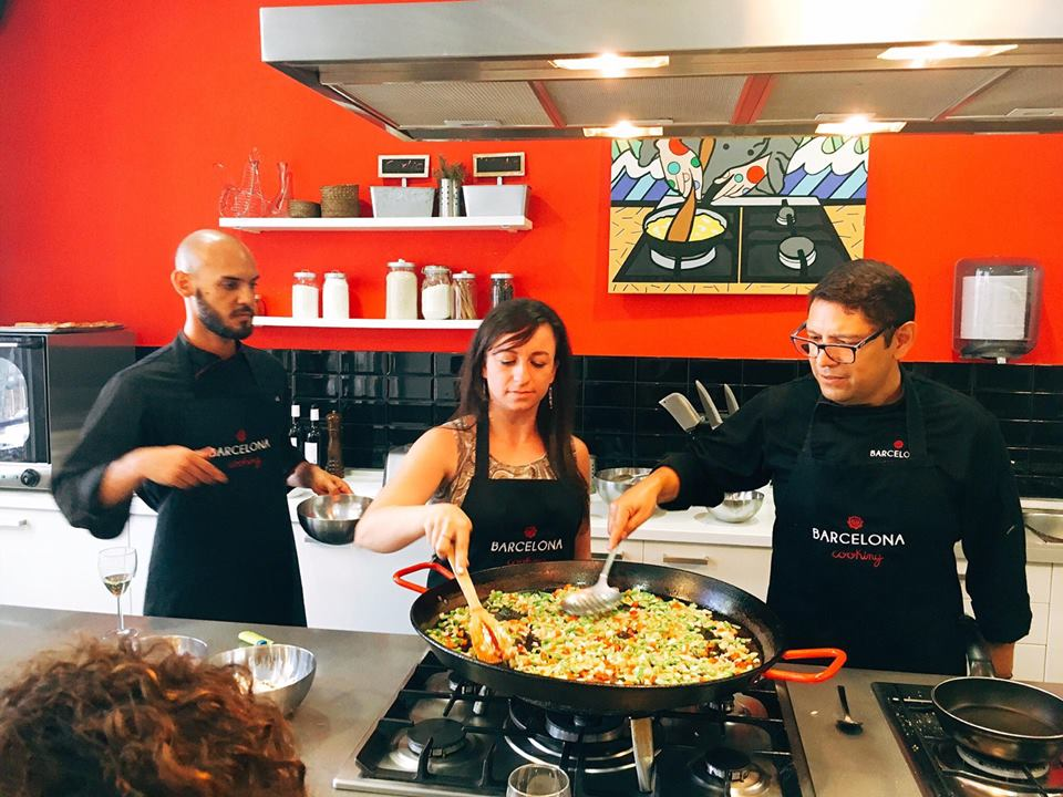 Authentic Spanish cooking class at Barcelona Cooking in Spain - Paella