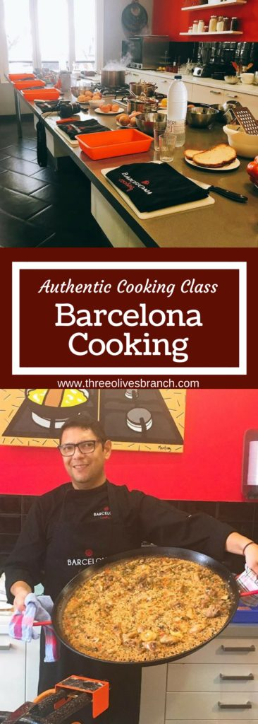 Authentic Spanish cooking class at Barcelona Cooking in Spain