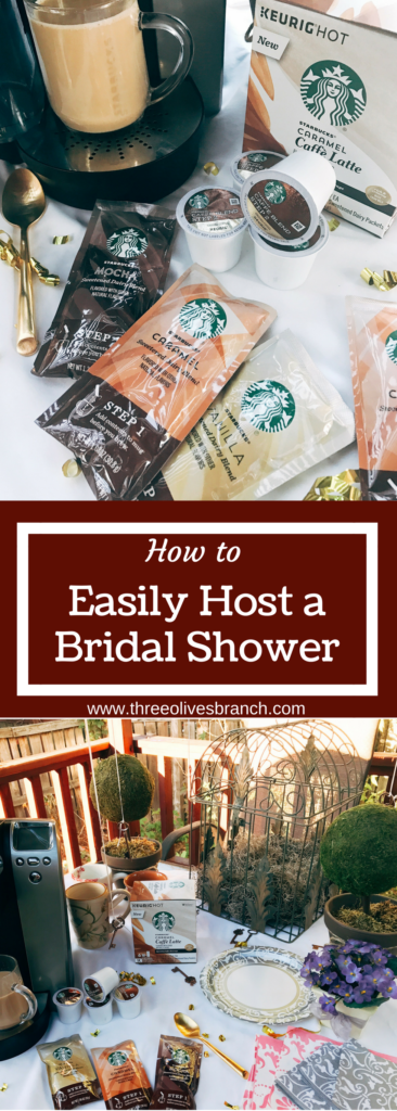 Five tips for how to easily host a bridal shower. Ideas for making the party easier to host without compromising style or effect.
