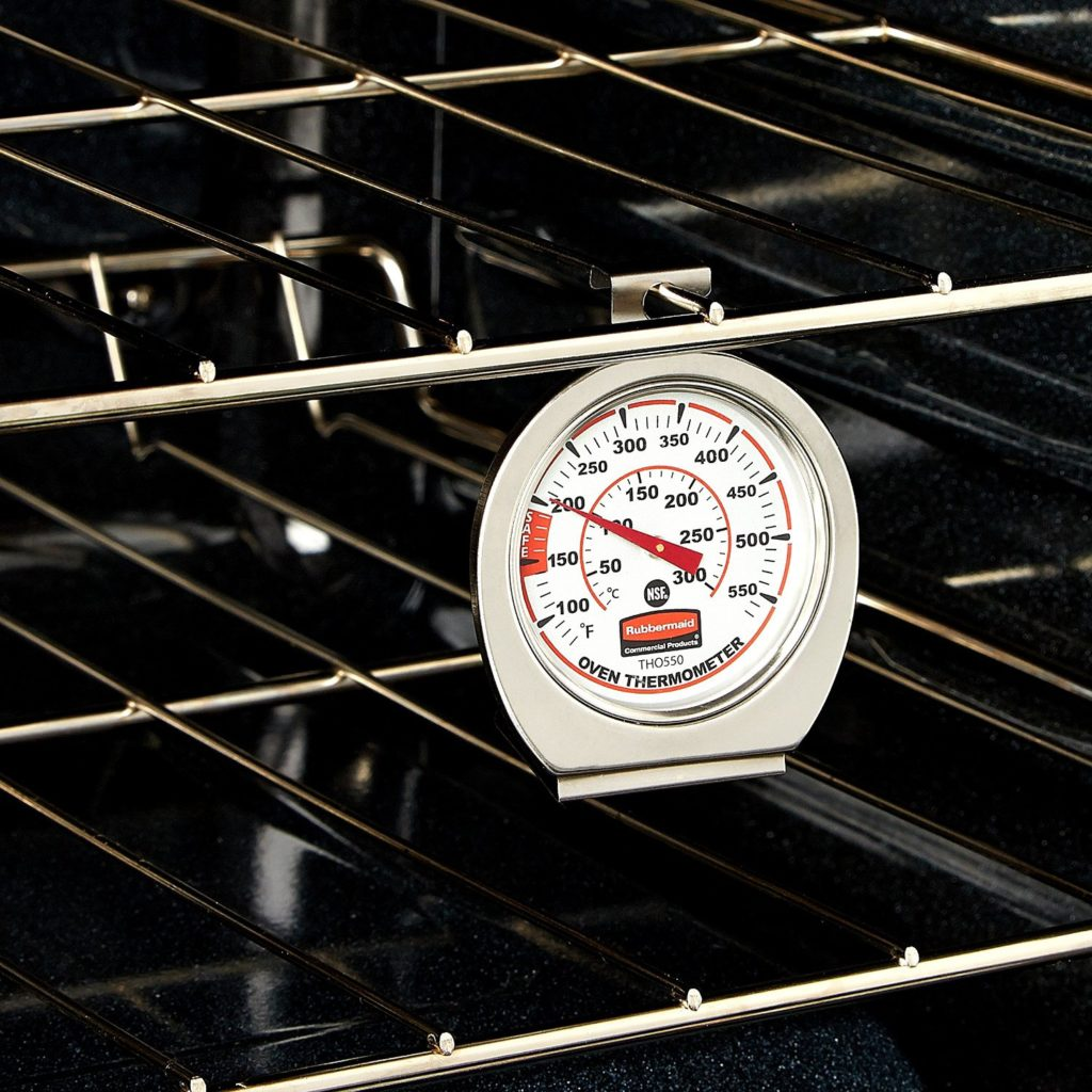 Oven Thermometer - Looking for some gift ideas for the cook in your life this holiday season? These 17 Stocking Stuffers for the Cook in Your Life are a perfect list to find something special for your loved one. Great present ideas for Kwanza, Christmas, Hanukkah, and more | Three Olives Branch | www.threeolivesbranch.com