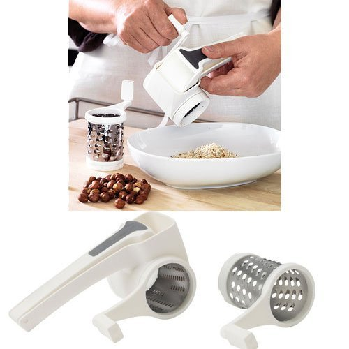 Rotary Grater - Looking for some gift ideas for the cook in your life this holiday season? These 17 Stocking Stuffers for the Cook in Your Life are a perfect list to find something special for your loved one. Great present ideas for Kwanza, Christmas, Hanukkah, and more | Three Olives Branch | www.threeolivesbranch.com