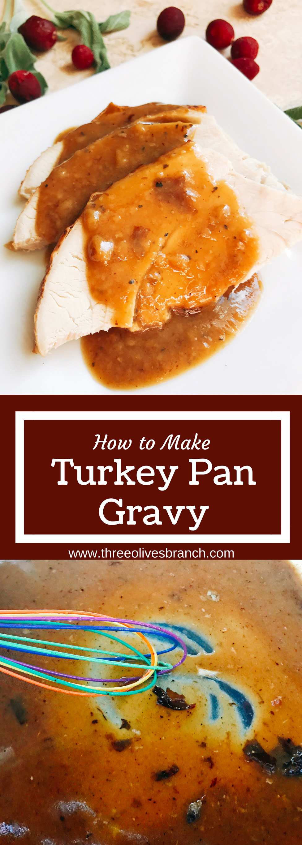 Easy turkey pan gravy recipe