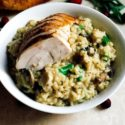 Thanksgiving Leftovers Risotto