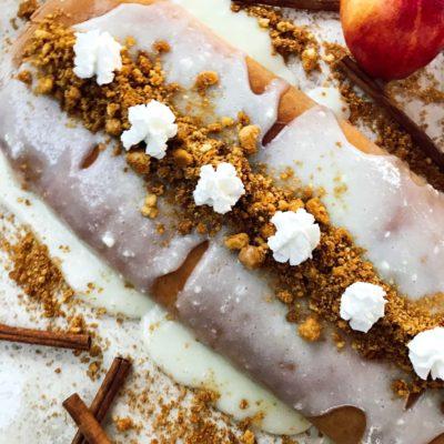 Apple Pie Sweet Roll Log