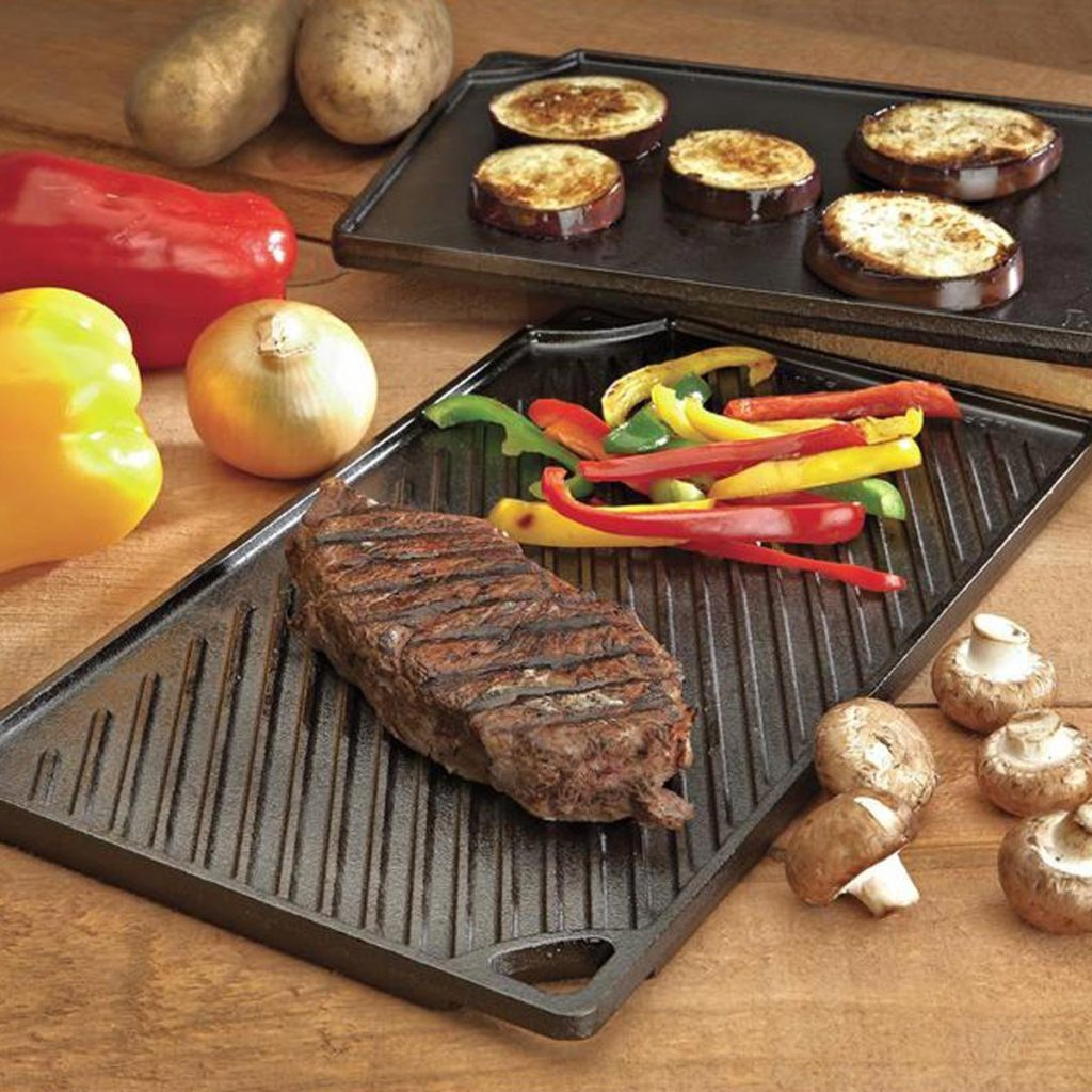 Grill Griddle - A perfect gift for the grill lover in your life! Great for Dad, husband, men, and women. Present for Christmas, Hanukkah, birthdays, or any other gift giving holiday!   20 Gift Ideas for Grill Lovers   Three Olives Branch   www.threeolivesbranch.com