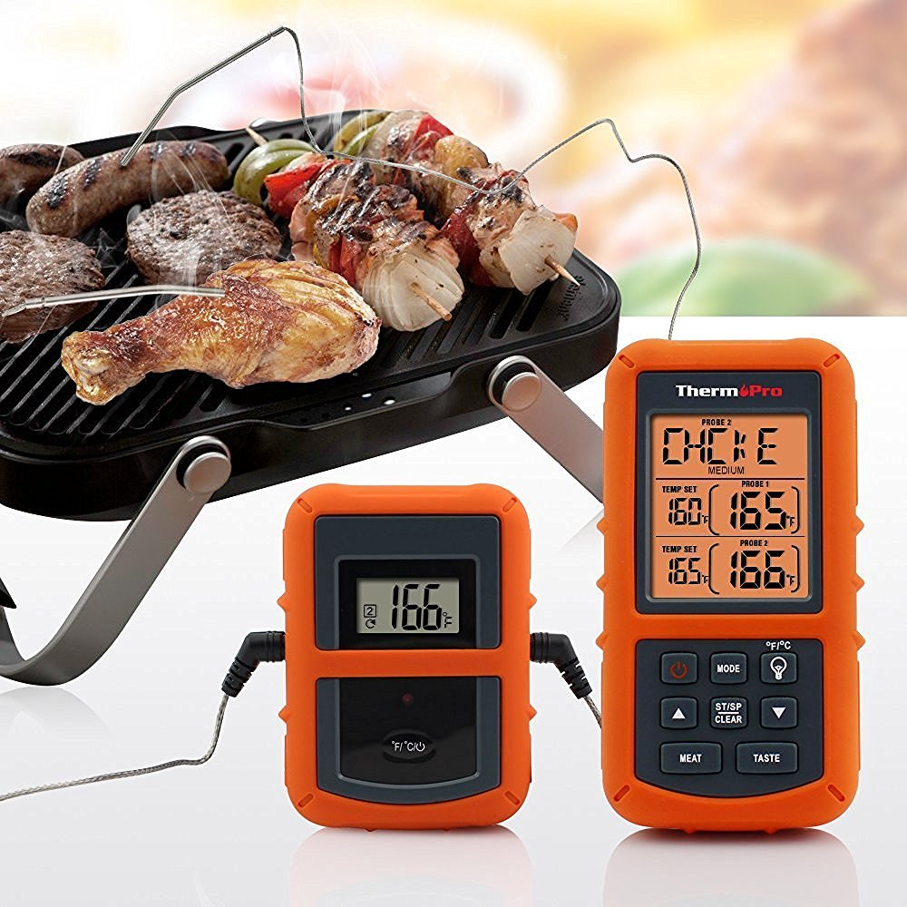 Grill Thermometer - A perfect gift for the grill lover in your life! Great for Dad, husband, men, and women. Present for Christmas, Hanukkah, birthdays, or any other gift giving holiday! | 20 Gift Ideas for Grill Lovers | Three Olives Branch | www.threeolivesbranch.com