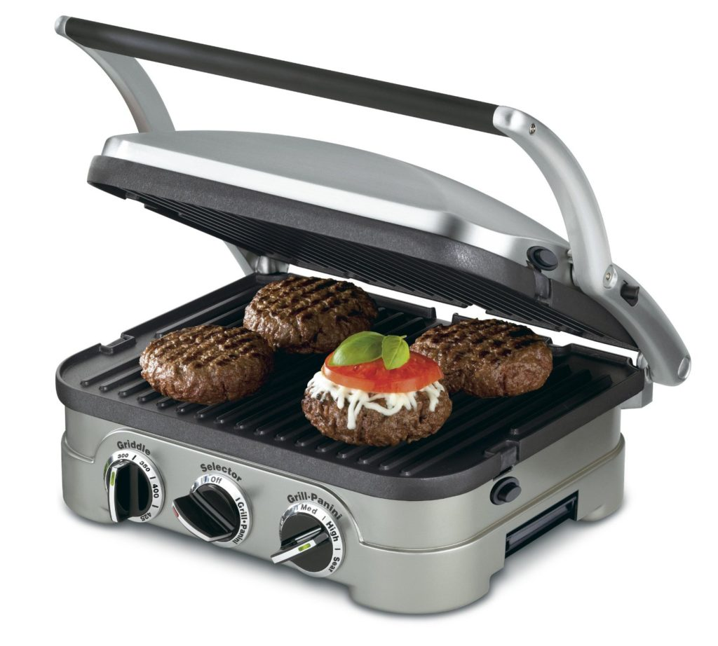 Indoor Griddle Grill - A perfect gift for the grill lover in your life! Great for Dad, husband, men, and women. Present for Christmas, Hanukkah, birthdays, or any other gift giving holiday!   20 Gift Ideas for Grill Lovers   Three Olives Branch   www.threeolivesbranch.com