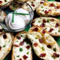 Jalapeno Popper Potato Skins