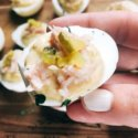 Tuna Luna Deviled Eggs