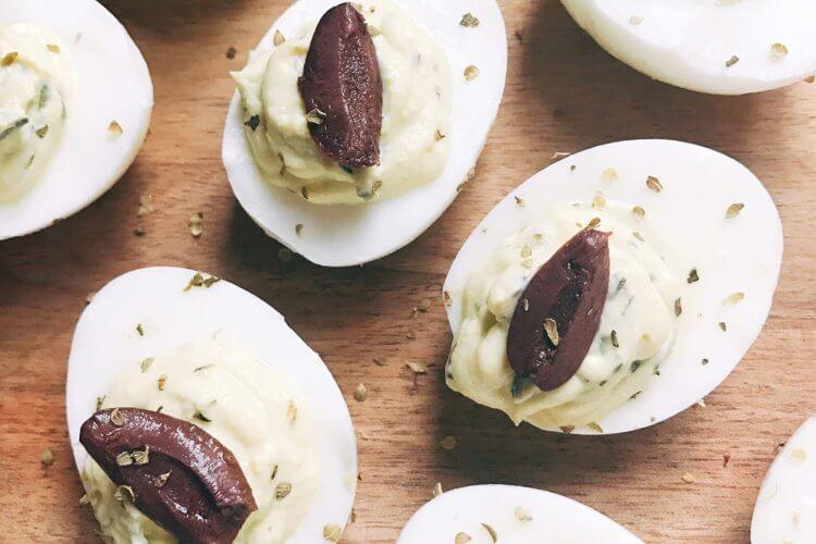 Tzatziki Deviled Eggs