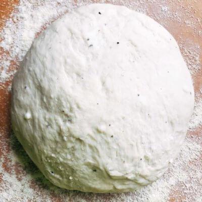 Parmesan Black Pepper Pizza Dough
