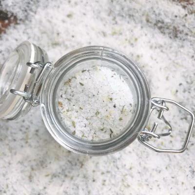 Mediterranean Flavored Salt