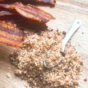 Bacon Bourbon Flavored Salt
