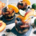 Blackberry Peach Frozen Daiquiri