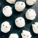 Halloween Mummy Candy Dipped Marshmallows