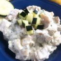 Healthy Tzatziki Potato Salad