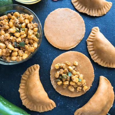 Mexican Street Corn Empanadas