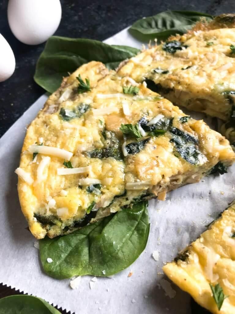 Easy Spinach Artichoke Frittata Recipe picture