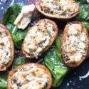 Spinach Artichoke Dip Potato Skins