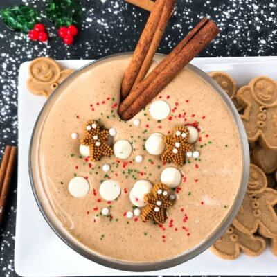 Gingerbread Cream Cheese Dip