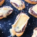 Nutella and Brie Crostini