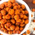 Buffalo Ranch Roasted Chickpeas