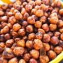 Spicy Cocoa Espresso Roasted Chickpeas
