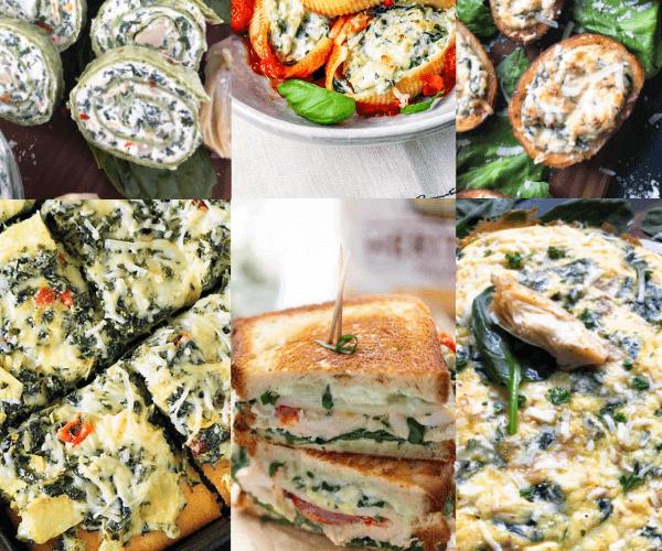 25+ Spinach Artichoke Recipes