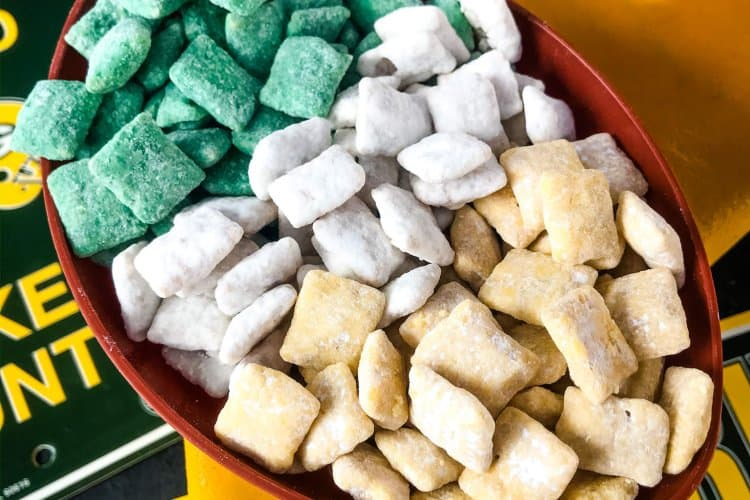 Green Bay Packers Puppy Chow