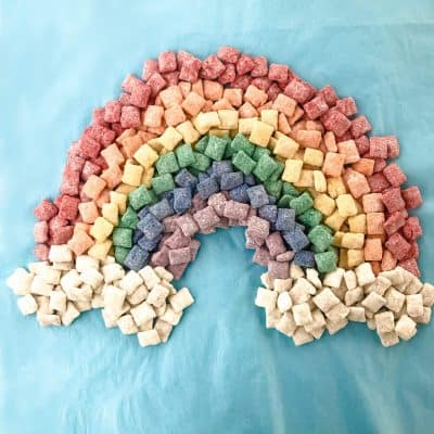 Rainbow Puppy Chow