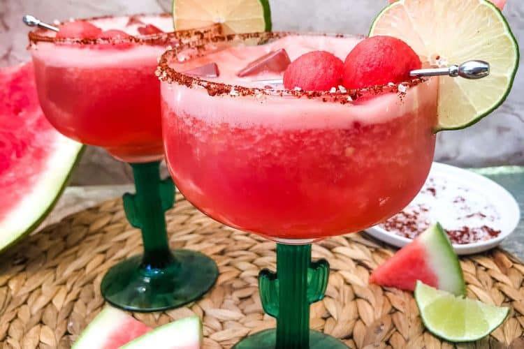 Chile Lime Spicy Watermelon Margarita