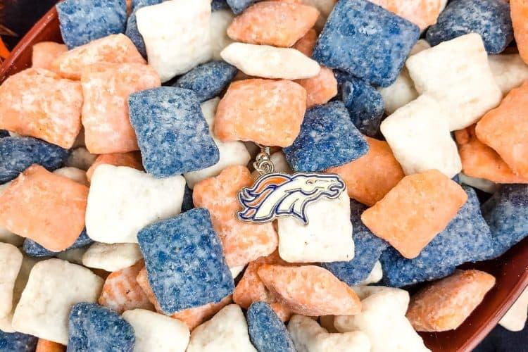 Denver Broncos Puppy Chow